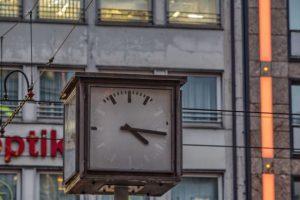 Zeitlose Öffnungszeiten